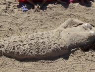 Rzeźby na piasku